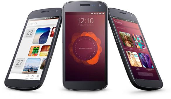 Ubuntu pour les téléphones